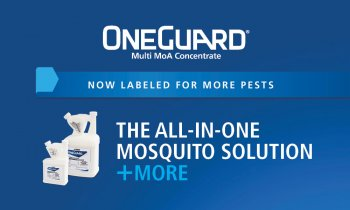 OneGuard is the all-in-one mosquito solution and more, includes image of OneGuard product package