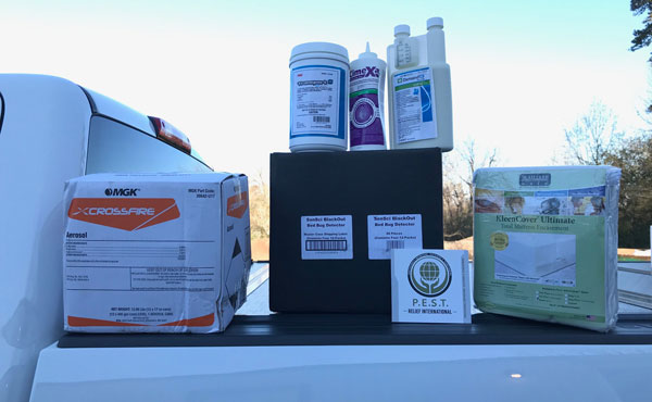 CrossFire and other product donations for P.E.S.T. Relief International