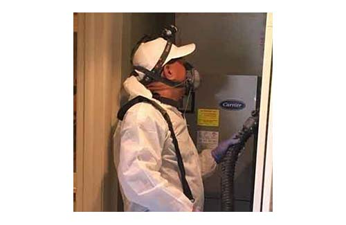 Fogging Treatment: PMP with appropriate PPE treats with fog