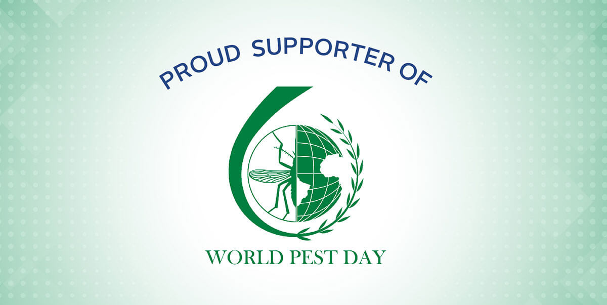 Proud Supporter of World Pest Day - June 6