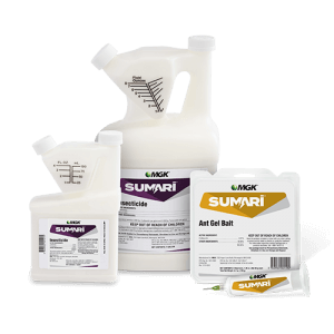 Sumari System for Ant Control: Insecticide Bottles (2) and ant gel bait
